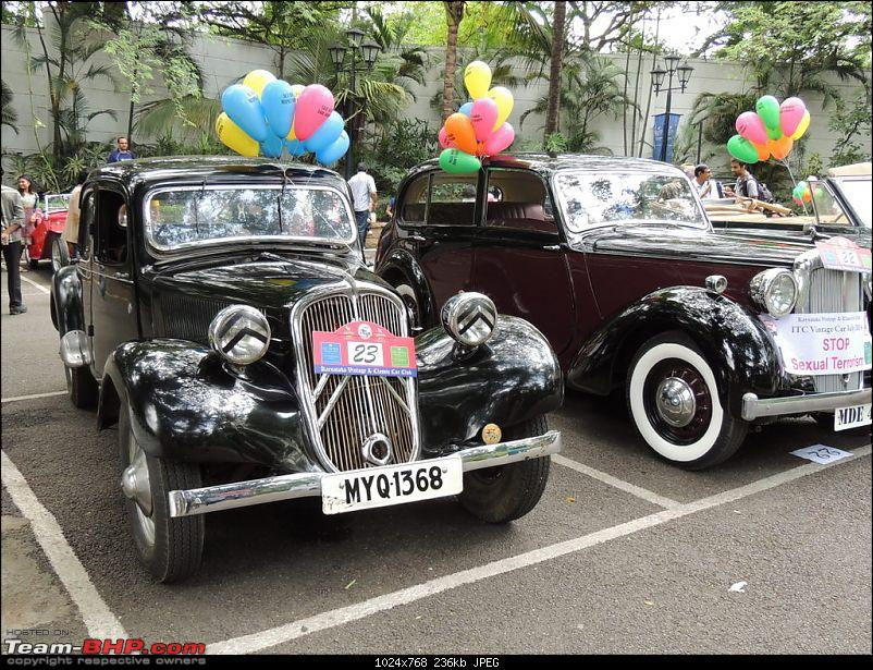 Karnataka Vintage & Classic Car Club Rally - Bangalore, August 2014-1947-citreon.jpg