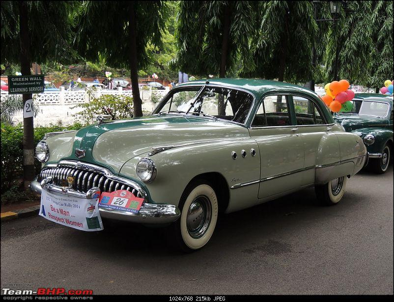 Karnataka Vintage & Classic Car Club Rally - Bangalore, August 2014-1949-buick.jpg