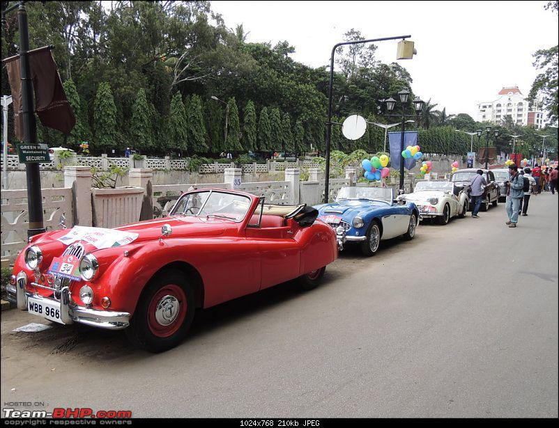 Karnataka Vintage & Classic Car Club Rally - Bangalore, August 2014-1955-jag-xk140.jpg