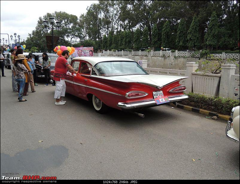 Karnataka Vintage & Classic Car Club Rally - Bangalore, August 2014-1959-chevy.jpg