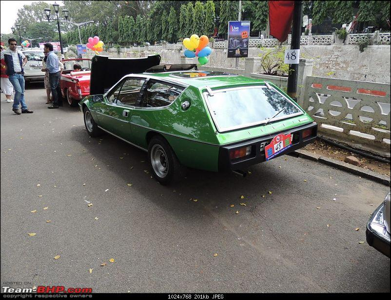 Karnataka Vintage & Classic Car Club Rally - Bangalore, August 2014-1974-lotus-2.jpg