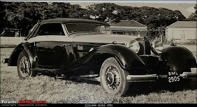 Vintage & Classic Mercedes Benz Cars in India-sh-mukhtar-sb-540k-mercedes-bombay-amer-ahmad1.jpg