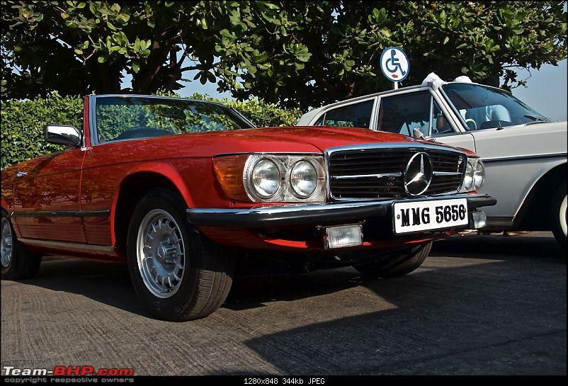 PICS: Mercedes-Benz Classic Car Parade in Mumbai. November 9, 2014-redsl2.jpg