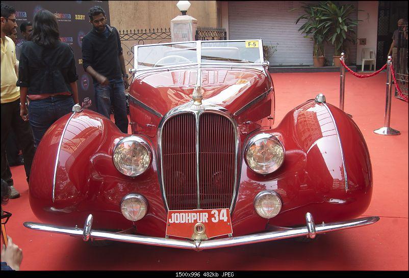 Mumbai: Vintage & Classic Car display & seminar. Liberty Cinema on 24th Jan, 2015-_2.jpg