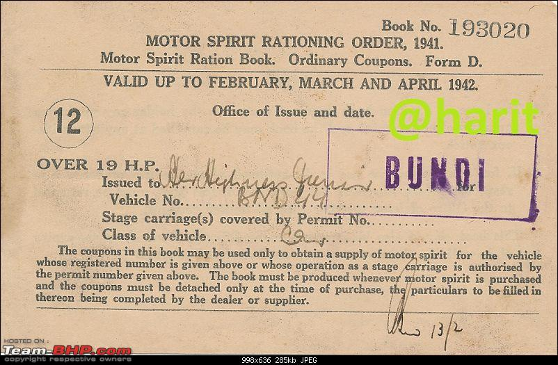 Early registration numbers in India-bundi.jpg