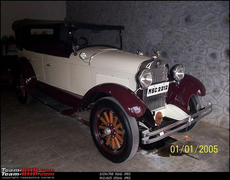 Early registration numbers in India-1928-essex-super-six.jpg