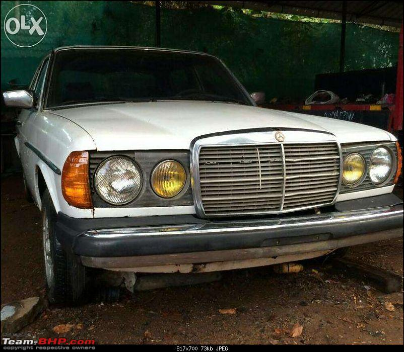 Vintage & Classic Mercedes Benz Cars in India-w123-amer.jpg