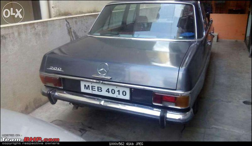 Vintage & Classic Mercedes Benz Cars in India-w115-24.jpg