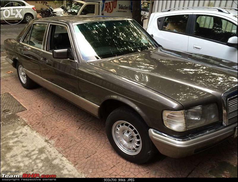 Vintage & Classic Mercedes Benz Cars in India-w126-280s.jpg