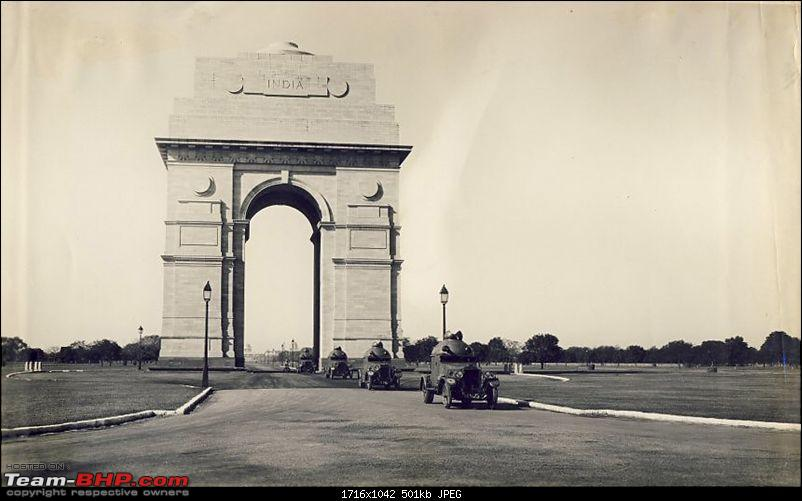 Pre-War Military Vehicles in India-india_gate_in_1930s.jpg