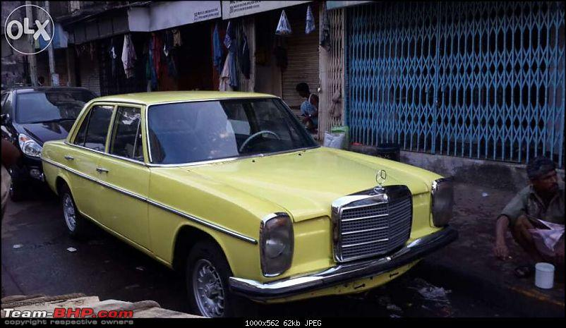 Vintage & Classic Mercedes Benz Cars in India-w115-91.jpg