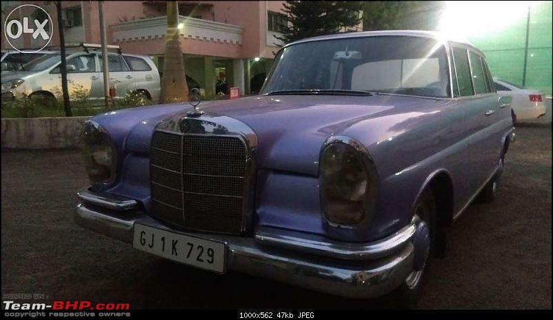 Vintage & Classic Mercedes Benz Cars in India-w108.jpg