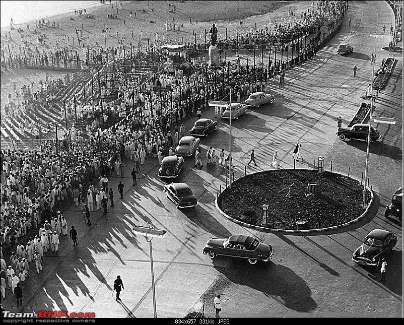 Nostalgic automotive pictures including our family's cars-bombay-chowpatty-beach-vithalbai-patel-statue-jan-1951.jpg