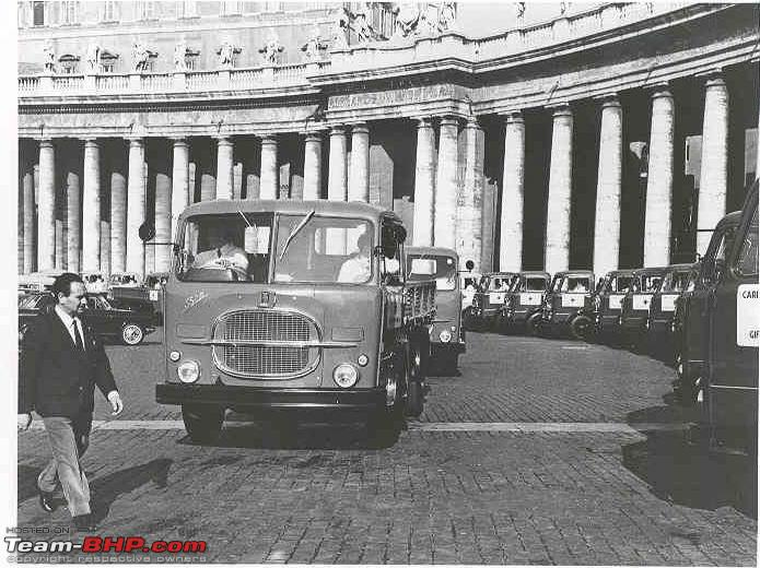Name:  Pope Paul VI FIAT 682N truck donation India 1966.jpg