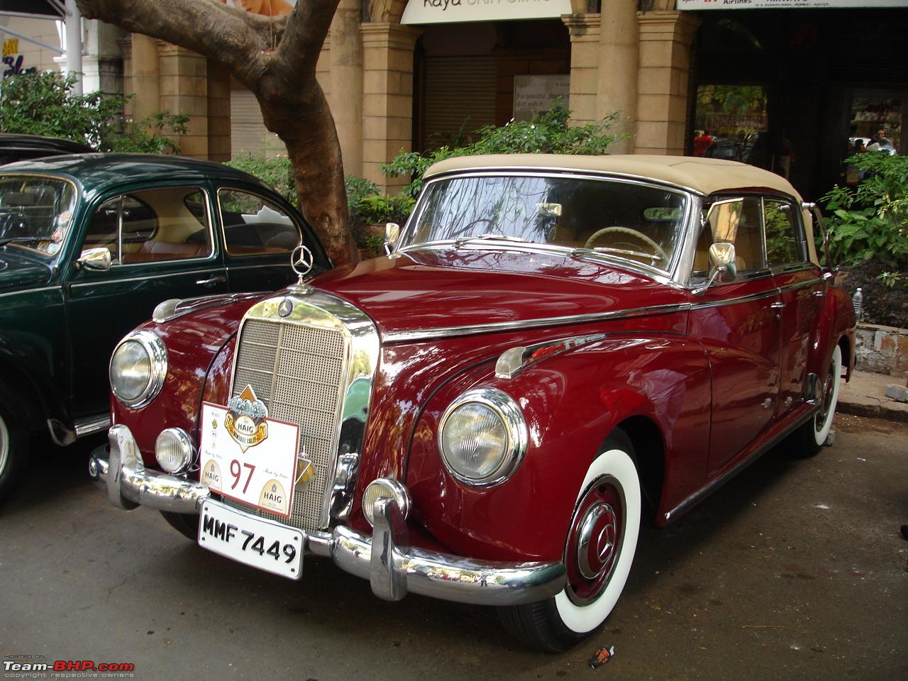 Vintage classic mercedes benz cars in india page 23 for Mercedes benz vintage cars