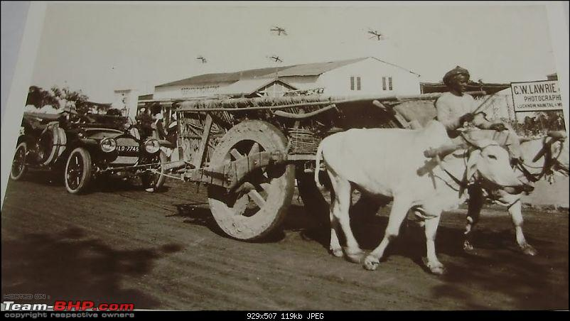 Nostalgic automotive pictures including our family's cars-delhi-car-pulled-ox-cart-1912-cropped.jpg