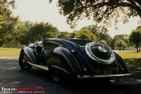 Name:  DHARBANGA ROLLS ROYCE PHANTOM III 1936 THRUPP REAR 3Q.JPG Views: 5248 Size:  57.2 KB