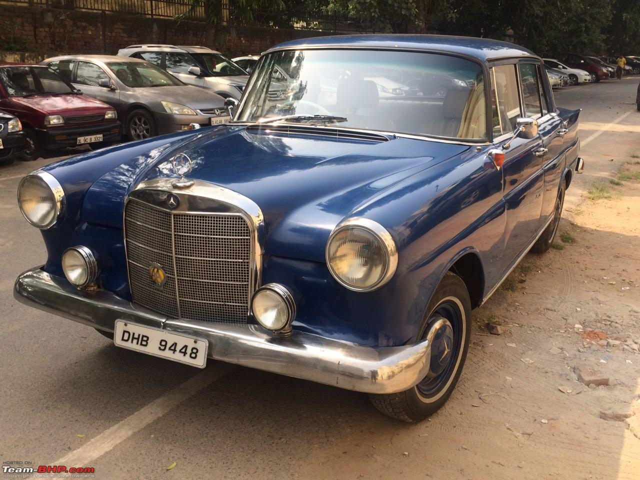 Vintage classic mercedes benz cars in india page 132 for All models of mercedes benz cars in india