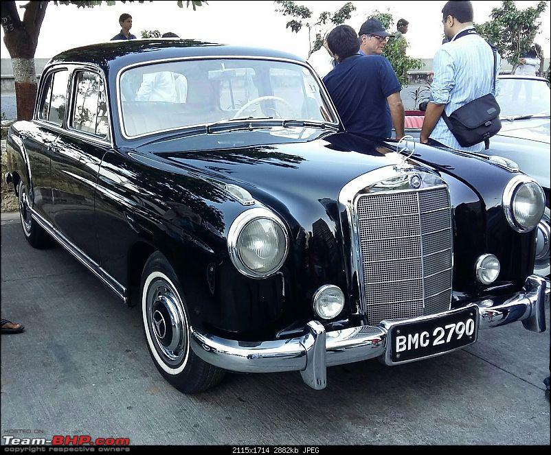 PICS: Mercedes-Benz Classic Car Parade in Mumbai. November 27, 2016-20161127_094923111.jpg