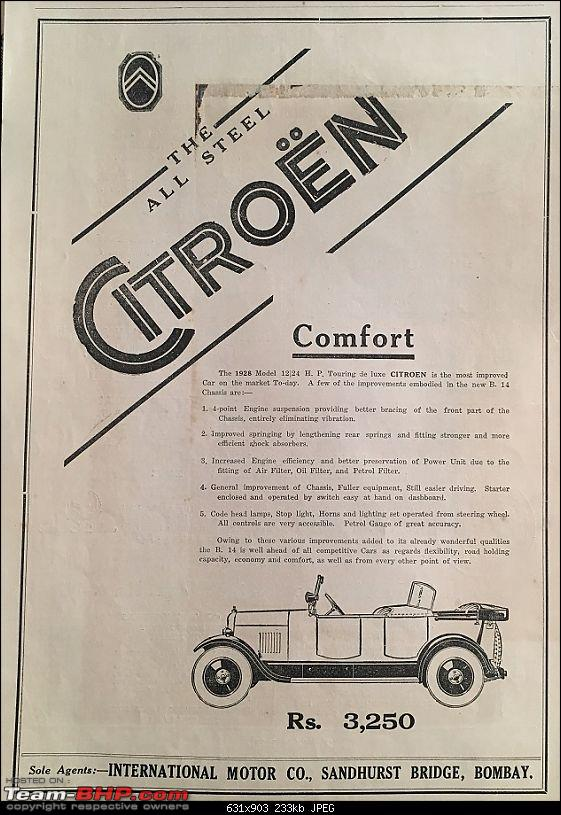 Cost of classic cars when new? Pics of invoices included-citroen.jpg