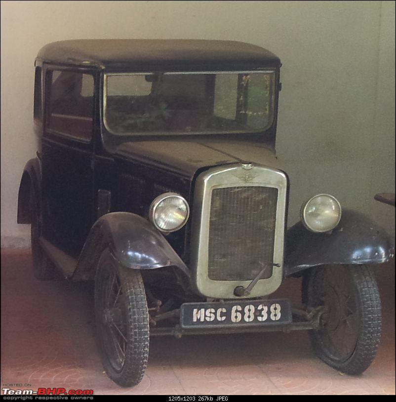 Early registration numbers in India-old-car.jpg
