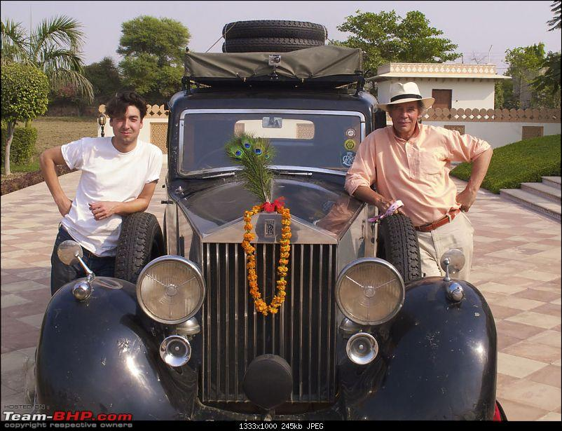 Vintage Overlanding! Driving Cross-Country back in the day-32rgoliverwithrollsbharatpur.jpg