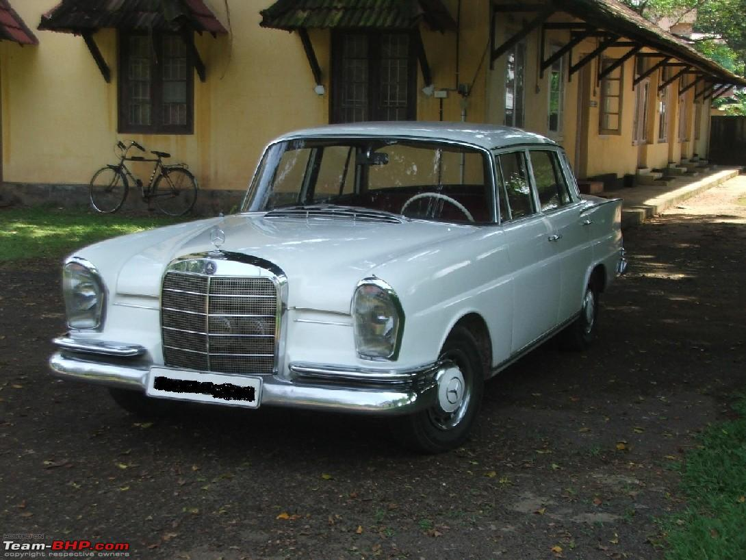 Vintage Classic Mercedes Benz Cars In India Page 28 Team Bhp