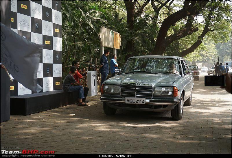 Pics: Mercedes-Benz Classic Car Parade in Mumbai. November 12, 2017-flagoff87.jpg