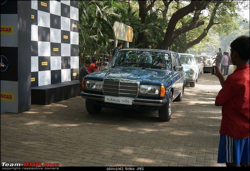 Pics: Mercedes-Benz Classic Car Parade in Mumbai. November 12, 2017-flagoff35.jpg