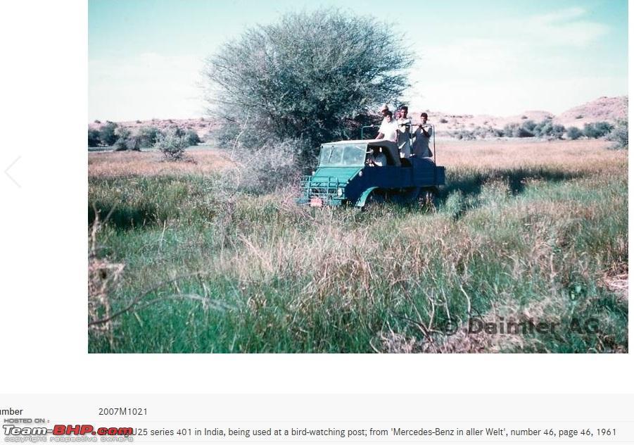 Mercedes Unimogs in India - Team-BHP