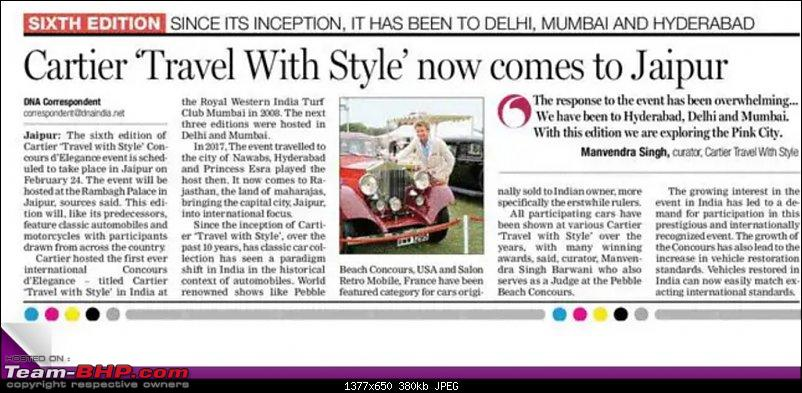 6th Cartier 'Travel With Style' Concours d'Elegance - Jaipur, February 2019-20190213_094428.jpg