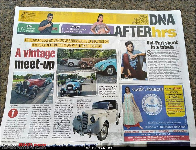 Jaipur Vintage & Classic Car Drives!-newspaper.jpg