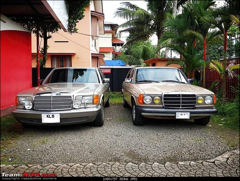 Vintage & Classic Mercedes Benz Cars in India-w126-w123.jpg