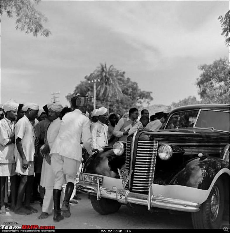 """Doing a Mysore"" again - Cars of Maharaja of Mysore-4.jpg"