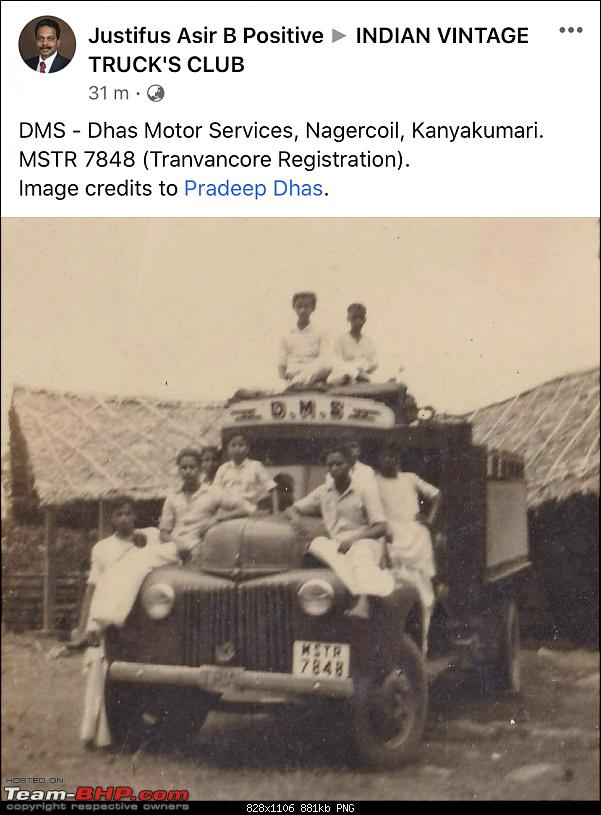 Early registration numbers in India-truck54.png
