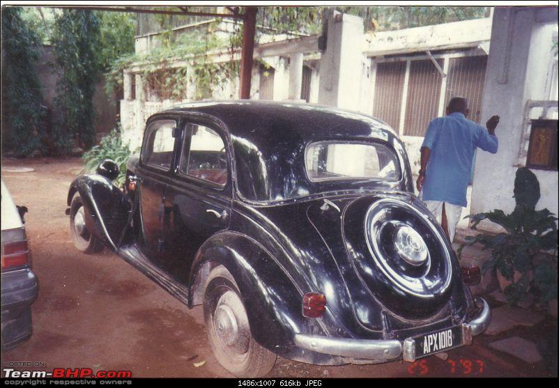 Vintage & Classic Mercedes Benz Cars in India-mercedes-170v-rear-hyderabad.jpg
