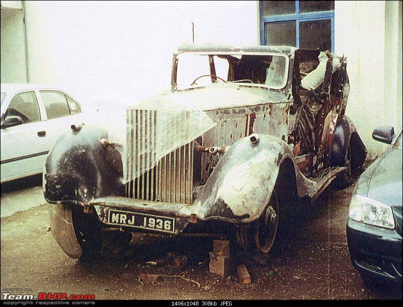 Classic Rolls Royces in India-3az198-wreck.jpg