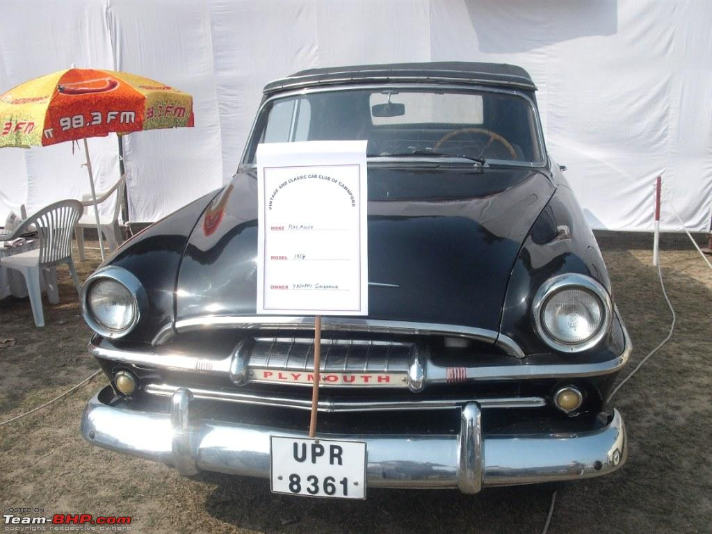 Yadupati Singhania's 1954 Plymouth Covertible