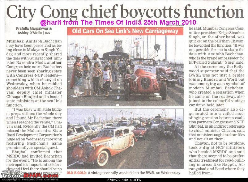 Vintage Car Cavalcade at the opening ceremony of North bound Carriageway on Sea-link-magazine-11.jpg