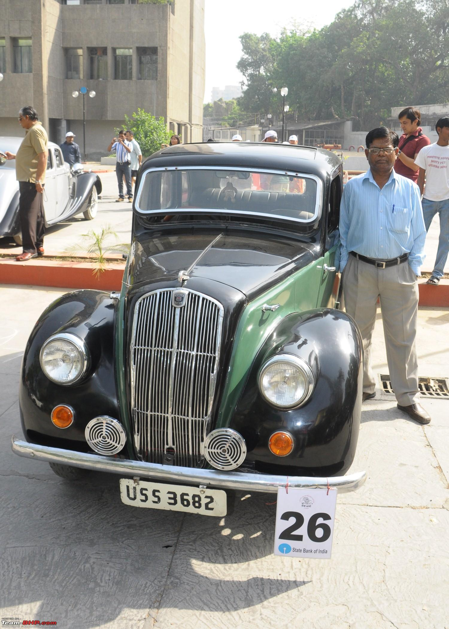 Vintage Car Rally At Lucknow Team Bhp