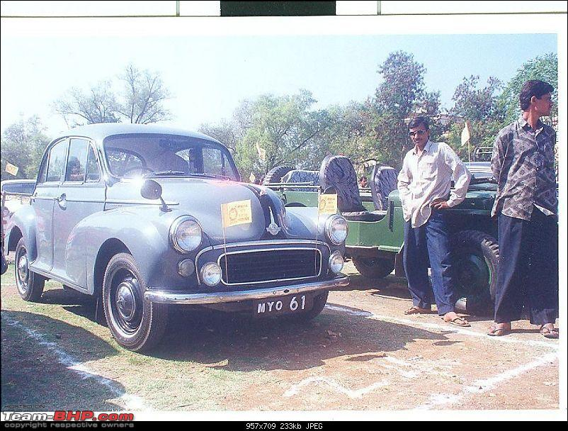 """Doing a Mysore"" again - Cars of Maharaja of Mysore-morris-minor.jpg"