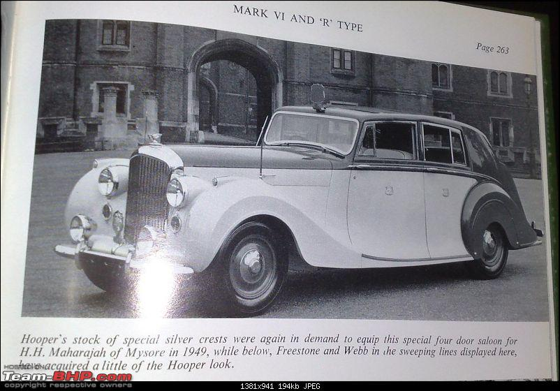 """Doing a Mysore"" again - Cars of Maharaja of Mysore-hooper.jpg"