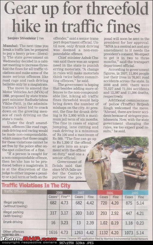 Govt planning to phase out 20 yr old PRIVATE cars - 25.06.09, Mumbai TOI, pg 3-picture-001.jpg