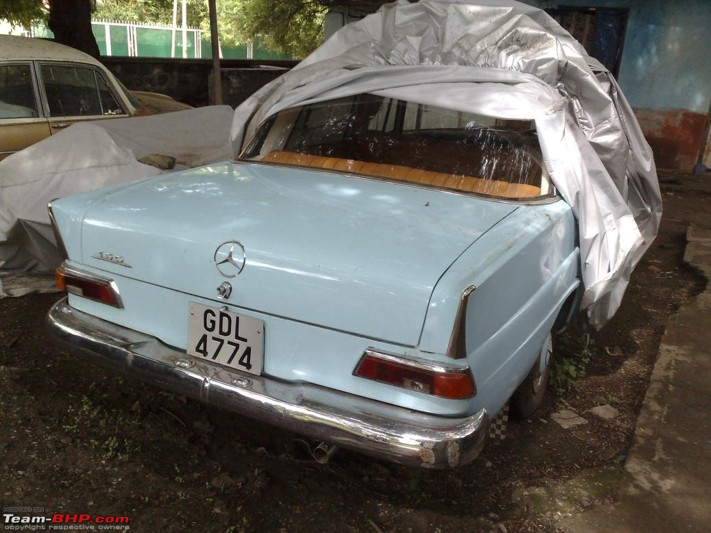 Vintage classic mercedes benz cars in india team bhp for Mercedes benz for sale in india