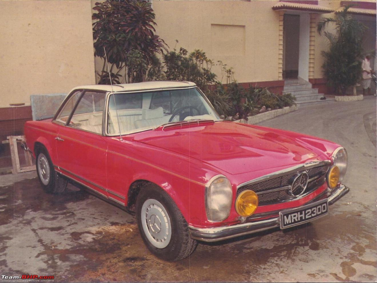 Vintage & Classic Mercedes Benz Cars in India - Page 2 - Team-BHP