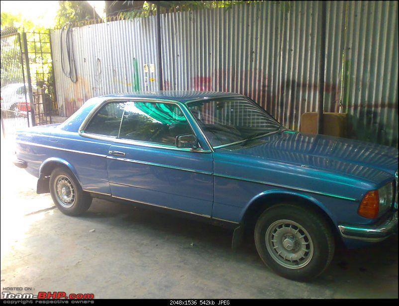 Miscellaneous other cars in India-280ce-side.jpg