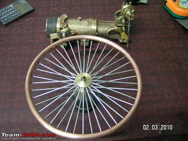 Name:  8  front wheel and engine assembly.JPG