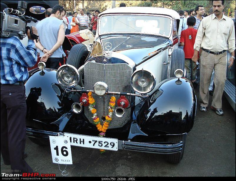 Miscellaneous other cars in India-mercedes-500k-licence-mrh7529-bombay.jpg