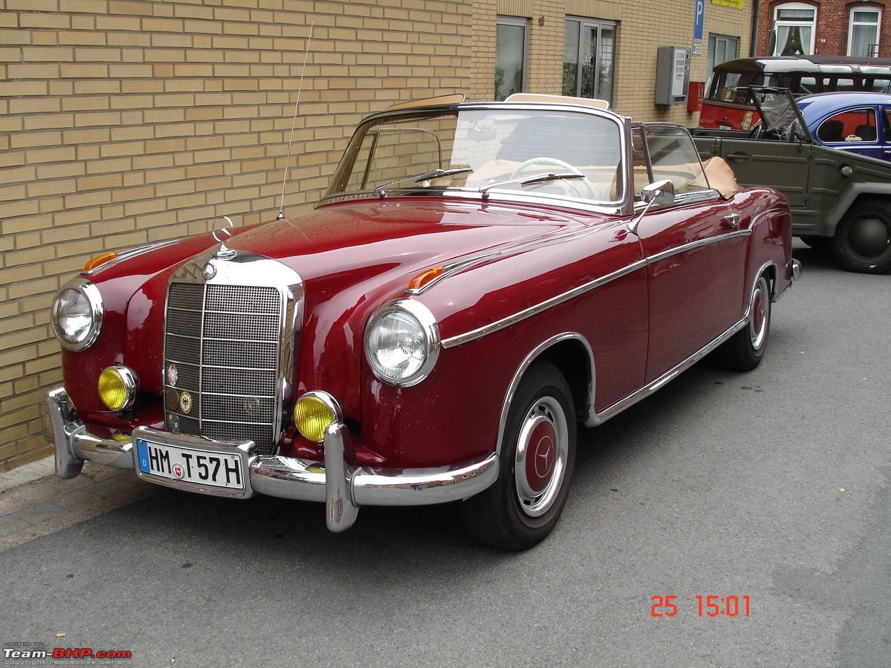 Vintage Mercedes Coupe