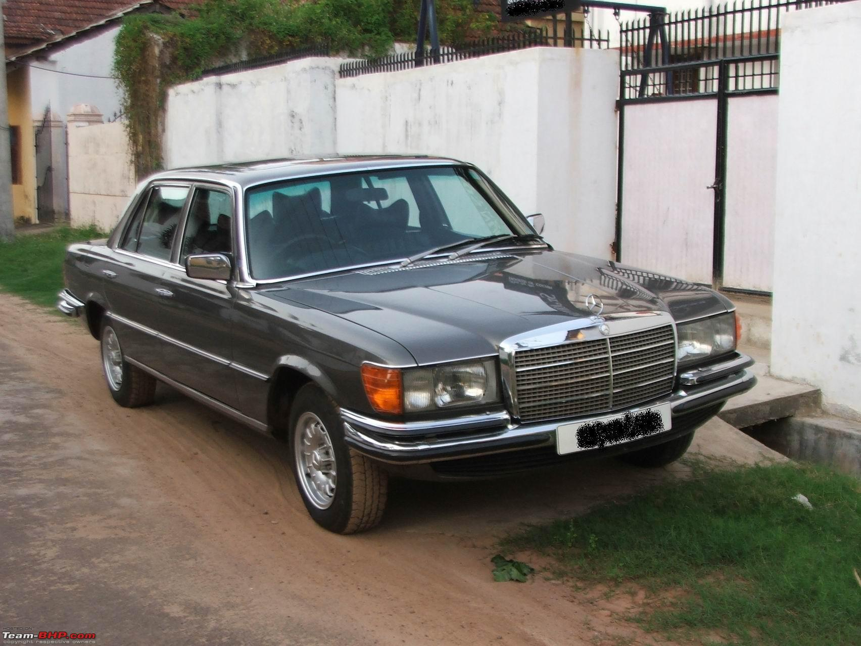 Vintage & Classic Mercedes Benz Cars in India - Page 9 - Team-BHP